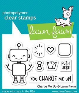 Charge Me Up, Clearstamp - Lawn Fawn