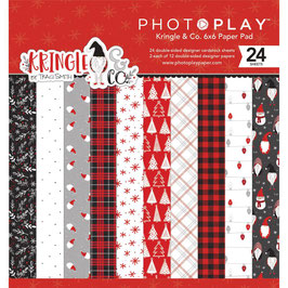 Kringle & Co 6x6 Paperpad - Photoplay