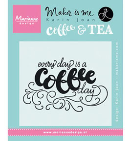 Every Day is a coffee day - Marianne Design