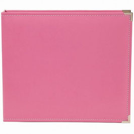 SN@P! Faux Leather Album 12x12 Inch, pink