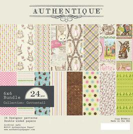 Cottontail 6x6 Paperpad - Authentique