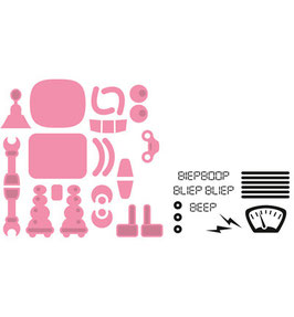 Collectables Robot - Marianne Design