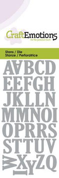 Uppercase Alphabet - CraftEmotions