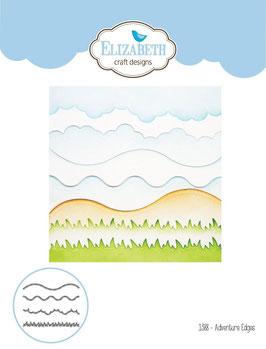 """Stanzschablone """"Adventure Edges"""" - Elizabeth Craft Designs"""