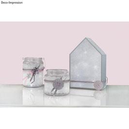 3D-Glimmereffekt-Folie Kristall - Rayher