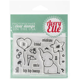 "Clearstamp-Set ""Ellie"" - Avery Elle"