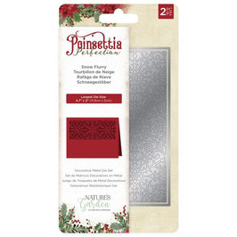 "Stanzschablone ""Poinsettia Perfection Snowflurry"" - Crafter's Companion"