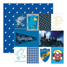 "Designpapier ""Harry Potter, Ravenclaw"""