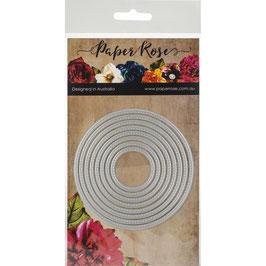Stitched Circles, Stanze - Paper Rose