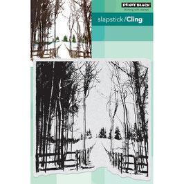 "Clingstamp ""Snow Trails"" - Penny Black"