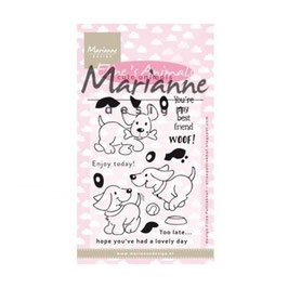 "Clearstamps ""Eline's Cute Animals - Puppies"" - Marianne Design"