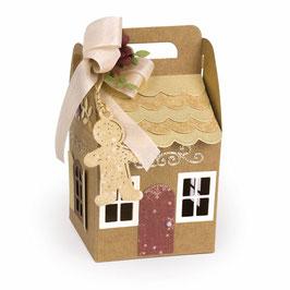"Stanzschablone ""Charming Cottage Box"" - Spellbinders"