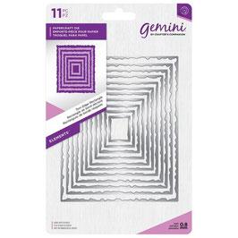 """Stanzschablone """"Rectangle"""" - Gemini"""