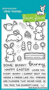 "Clearstamp ""Some Bunny"" - Lawn Fawn"