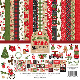 My Favorite Christmas 12x12 Collection Kit - Echo Park