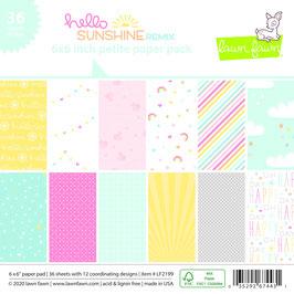 Sunshine Remix 6x6 Paperpad - Lawn Fawn