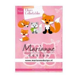 """Collectables """"Cute Fox"""" - Marianne Design"""