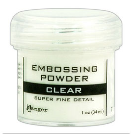 Super Fine Clear - Ranger Embossing Pulver