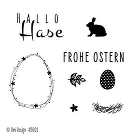 Ostern, Clearstamp - Dini Design