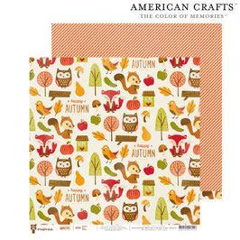 Give Thanks, Woodland - American Crafts