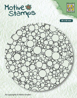 "Clearstamp ""Texture Bubbles"" - Nellies Choice"