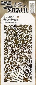 "Layered Stencil ""Doodle Art #2"" - Tim Holtz"