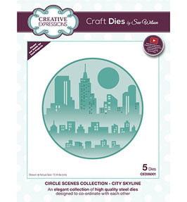 Scenes Collection City Skyline - Creative Expressions