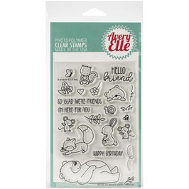 Beary Good, Stempel - Avery Elle
