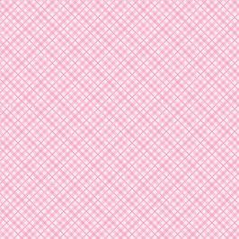 """Designpapier """"Light Pink Plaid"""" - Core'dinations"""