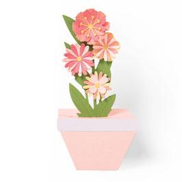 """Thinlits Die Set """"Pop-Up Plant Pot"""" - Sizzix"""