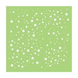 "Schablone ""Scattered Stars"" - Kaisercraft"