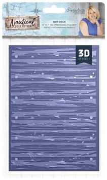 """3D Prägeschablone """"Ship Deck"""" - Crafter's Companion"""