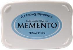 Memento Inkpad - Summer Sky