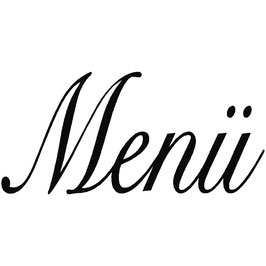 """Holzstempel """"Menü"""""""
