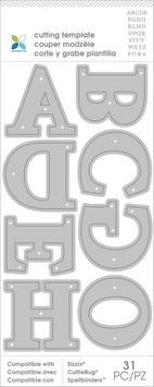 XL Serif Alphabet, Stanze - Momenta