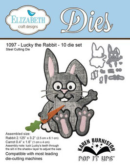 Lucky The Rabbit - Elizabeth Craft Design