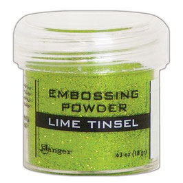 "Embossingpulver ""Lime Tinsel"" - Ranger"