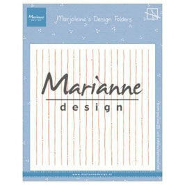 """Prägeschablone """"Marjoleine's Stripes"""" - Marianne Design"""