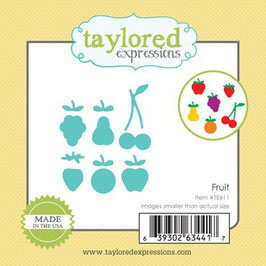 """Stanzschablone """"Fruit"""" Little Bits - Taylored Expressions"""