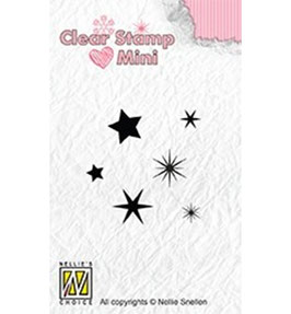 "Clearstampset ""Mini Stars"" - Nellie's Choice"