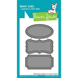 Stitched Labels - Lawn Fawn