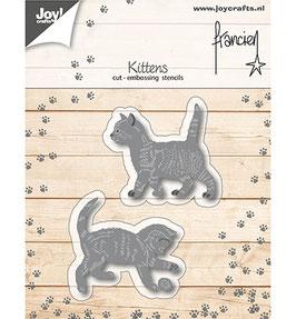 """Stanzschablone """"Katzen"""" - Joy Crafts"""