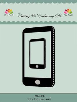 "Stanzschablone ""Smartphone"" - Dixi Craft"