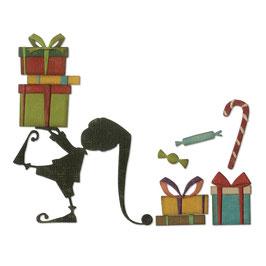 """Thinlits Die Set """"Santa's Helper"""" - Sizzix"""