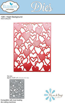 Heart Background - Elizabeth Craft Designs