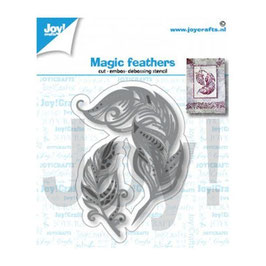 "Stanzschablone ""Magic Feathers"" - Joy Crafts"