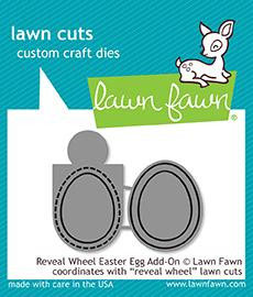 "Stanzschablone ""Reveal Wheel Easter Egg Add-On"" - Lawn Fawn"