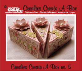 Create A Box, Piece Of Cake - Crealies