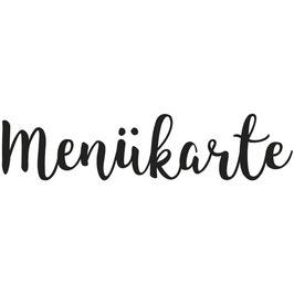 """Holzstempel """"Menükarte"""""""