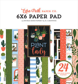 Plant Lady 6x6 Paperpad - Echo Park